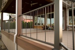 Porch with Verti cable Railing