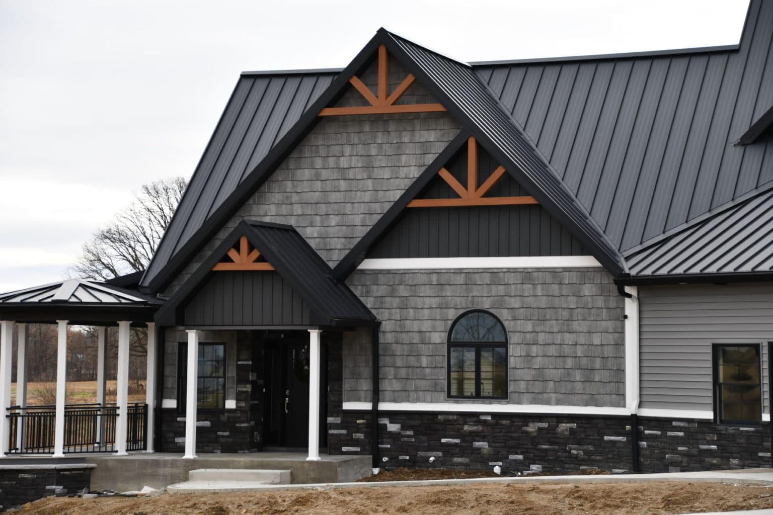 Decorative Gable End - Alpha Building Center